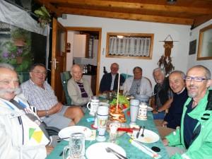 Mitglieder Schola St. Georg Vorsitzender Otto Weismantel
