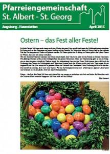 Pfarrzeitung 2015 - Ostern